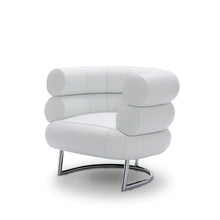 Load image into Gallery viewer, Bibendum in White Leather