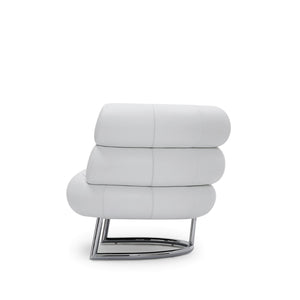 Bibendum in White Leather