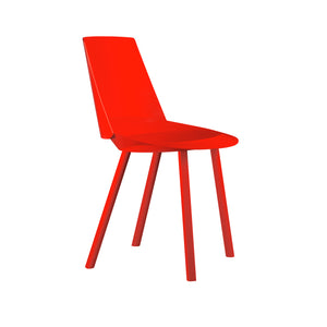 Houdini Chair - Armless - Neon Red