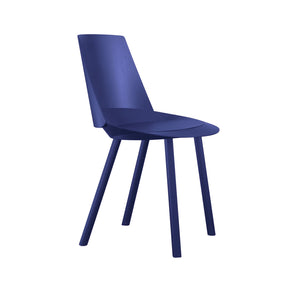 Houdini Chair - Armless - Lapis Blue