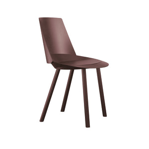 Houdini Chair - Armless - Chocolate Brown