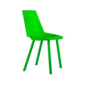 Houdini Chair - Armless - Atomic Green
