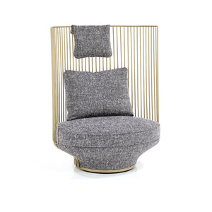Paradise Bird High Back Chair