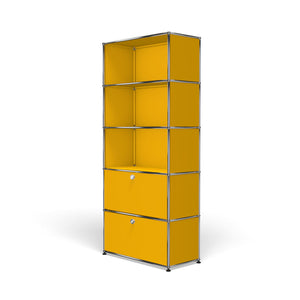 Shelving R1 - Golde Yellow