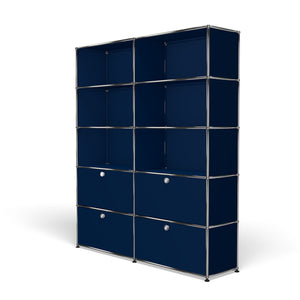 Shelving R2 - Steel Blue