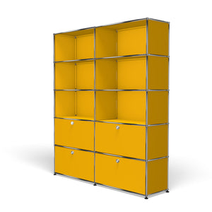 Shelving R2 - Golden Yellow