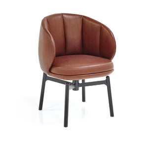 Vuelta FD Swivel Chair - Guande Autumn, Black Legs
