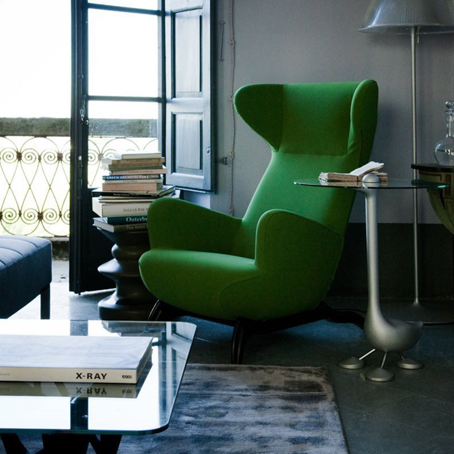 Ardea lounge chair, homage to Carlo Molino