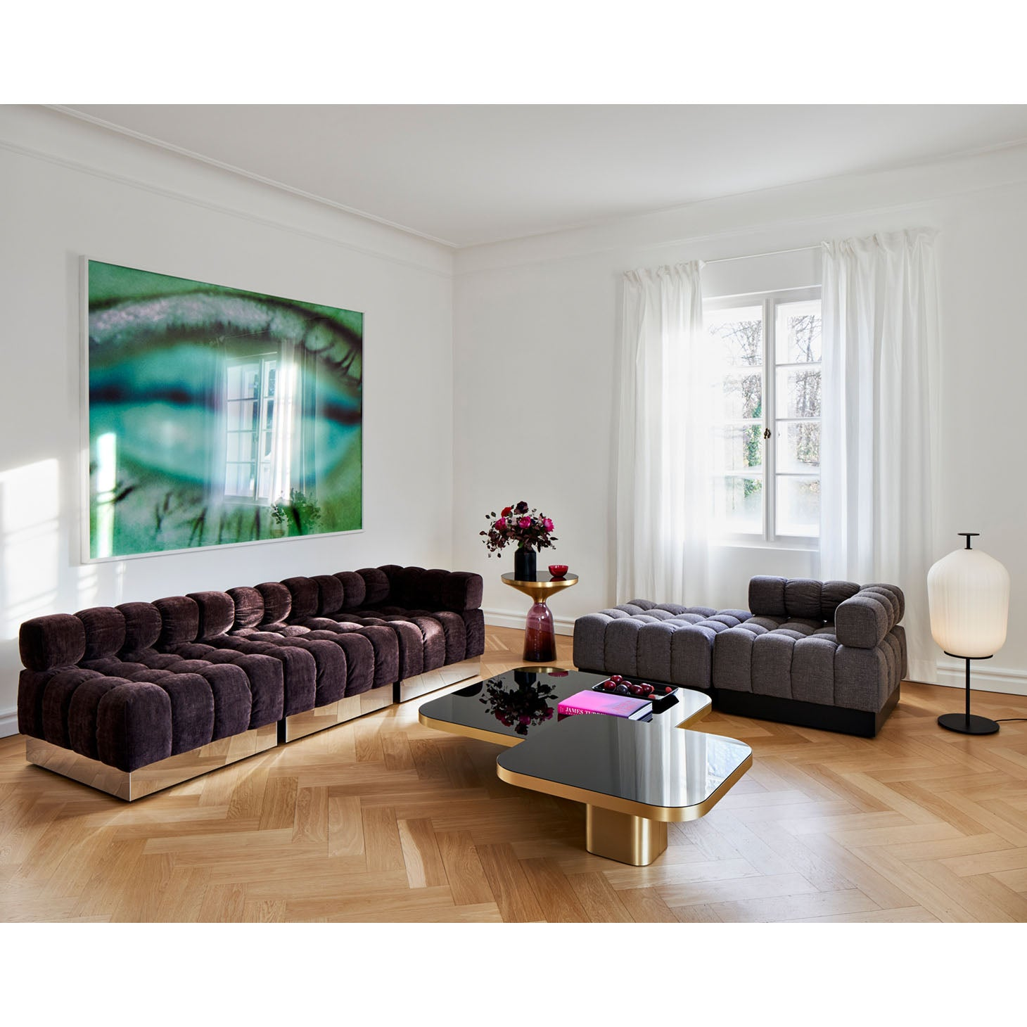 Harvey Probber's Deep Tuft® sofa by M2L