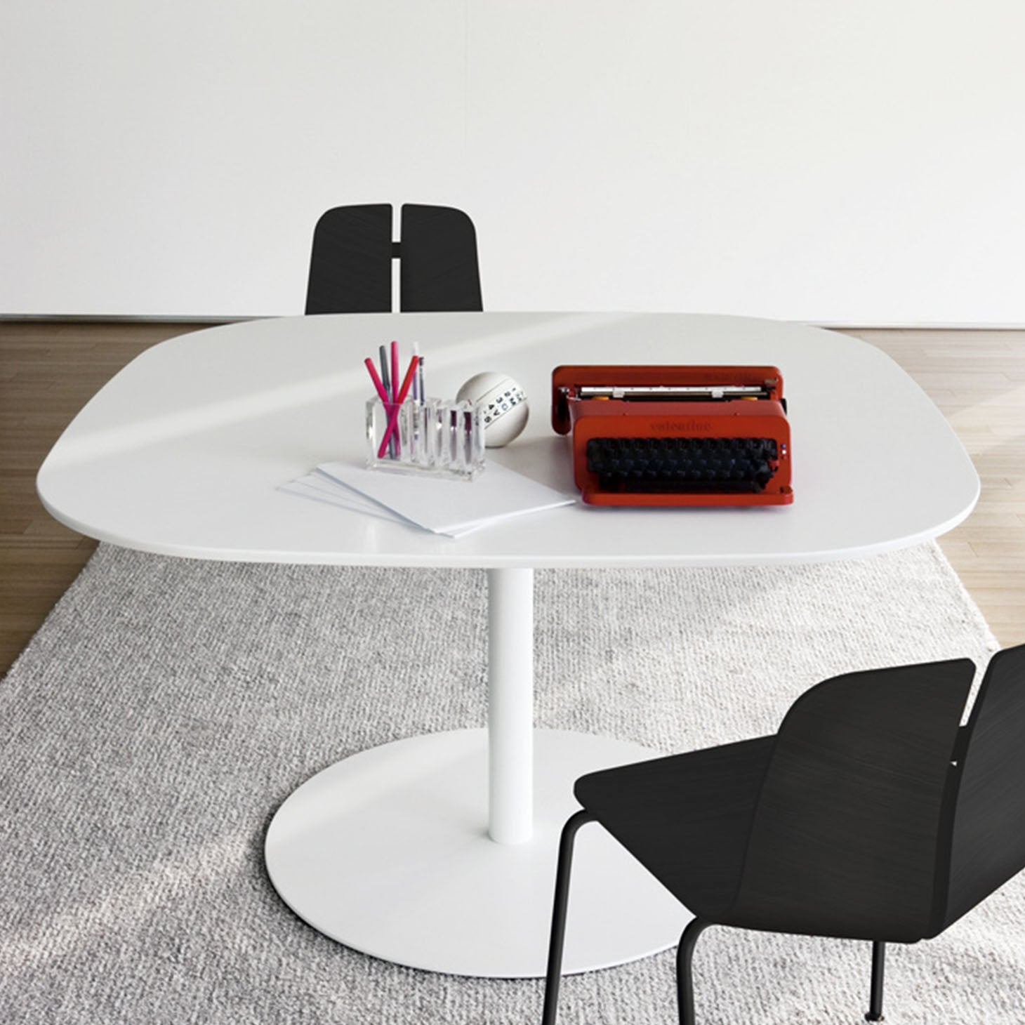 Rondo Square Table by Marcato for LaPalma