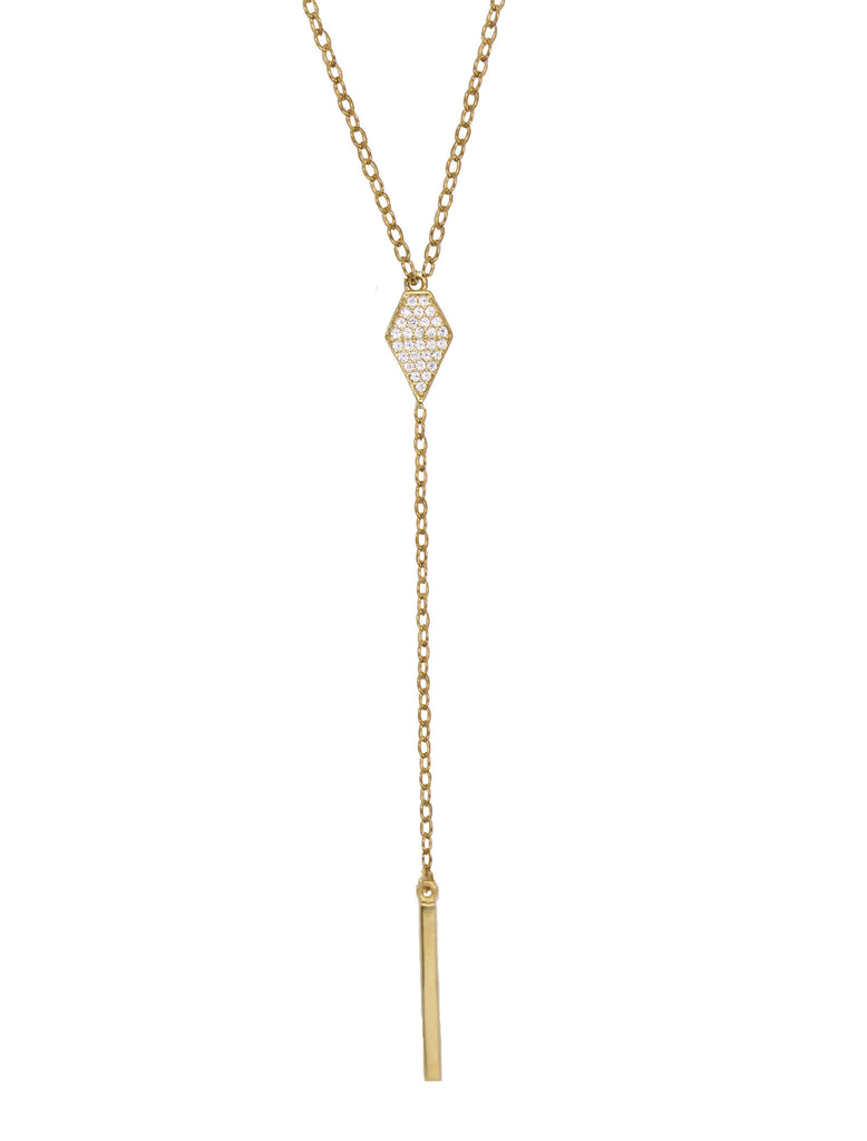 Diamond Lariat Necklace Under $100