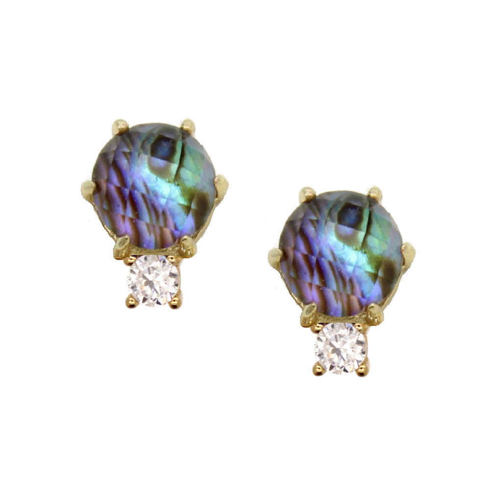 Scotia Stud in Abalone by Rachael Ryen
