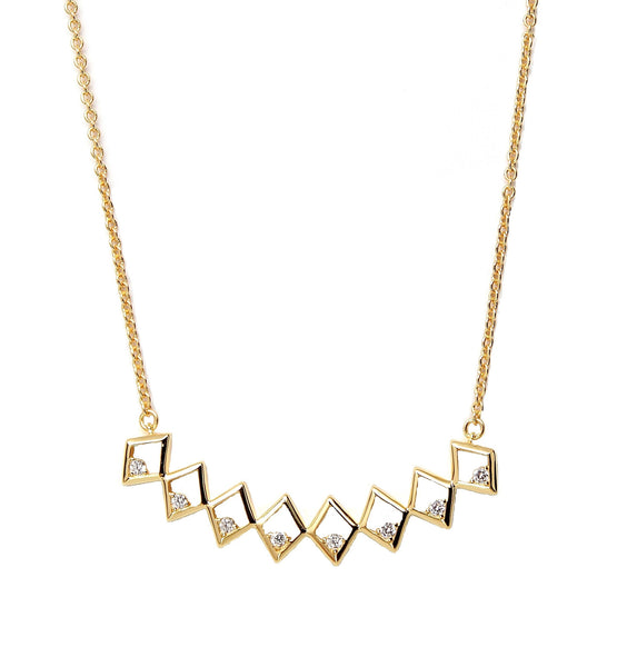 Rachael Ryen Diamond Bar Necklace