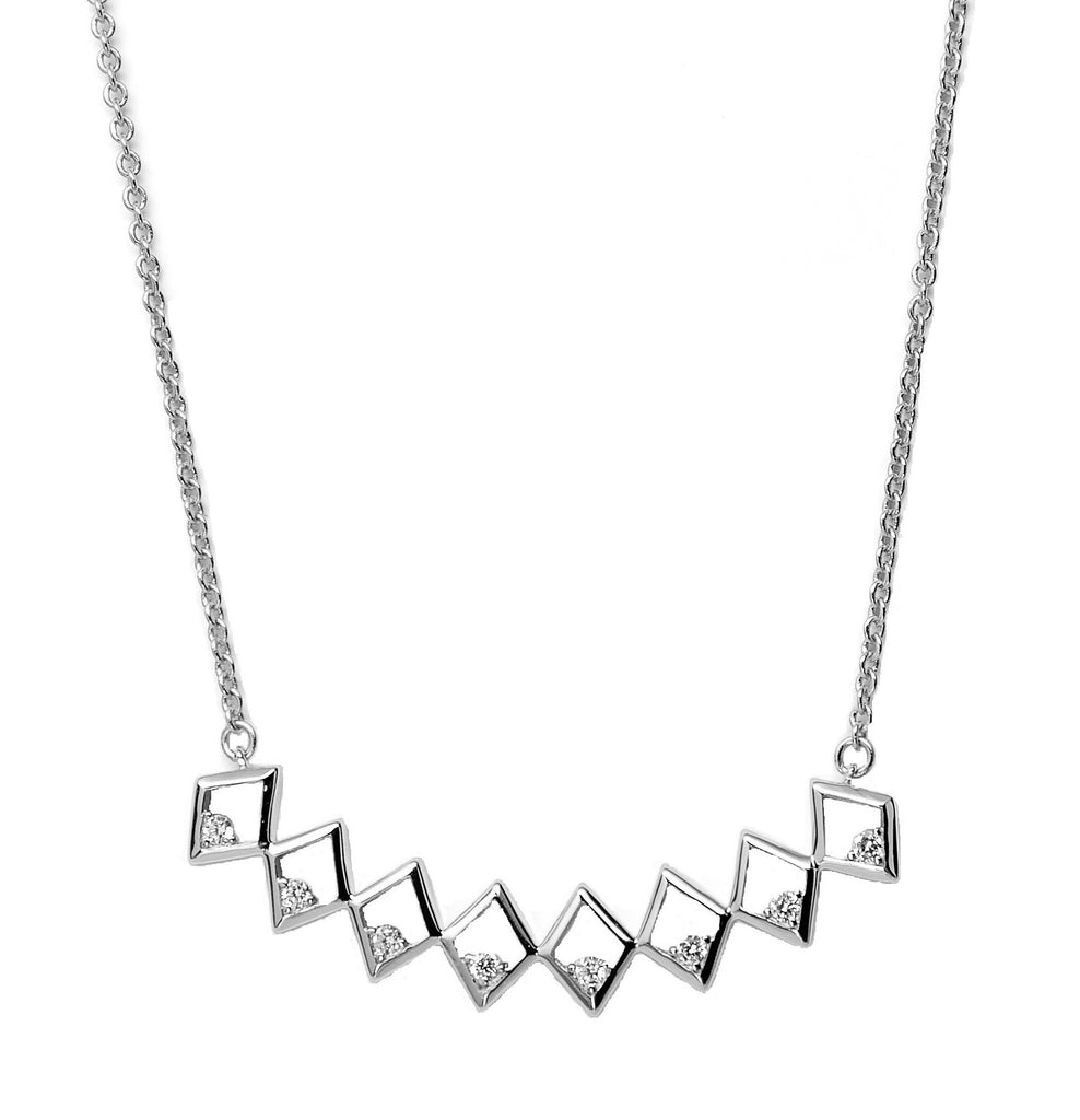 Sterling Silver Bar Necklace Under $100