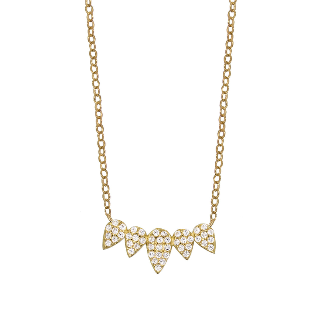 Petal Climber Necklace
