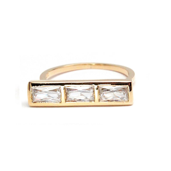 Rachael Ryen Baguette Bar Ring