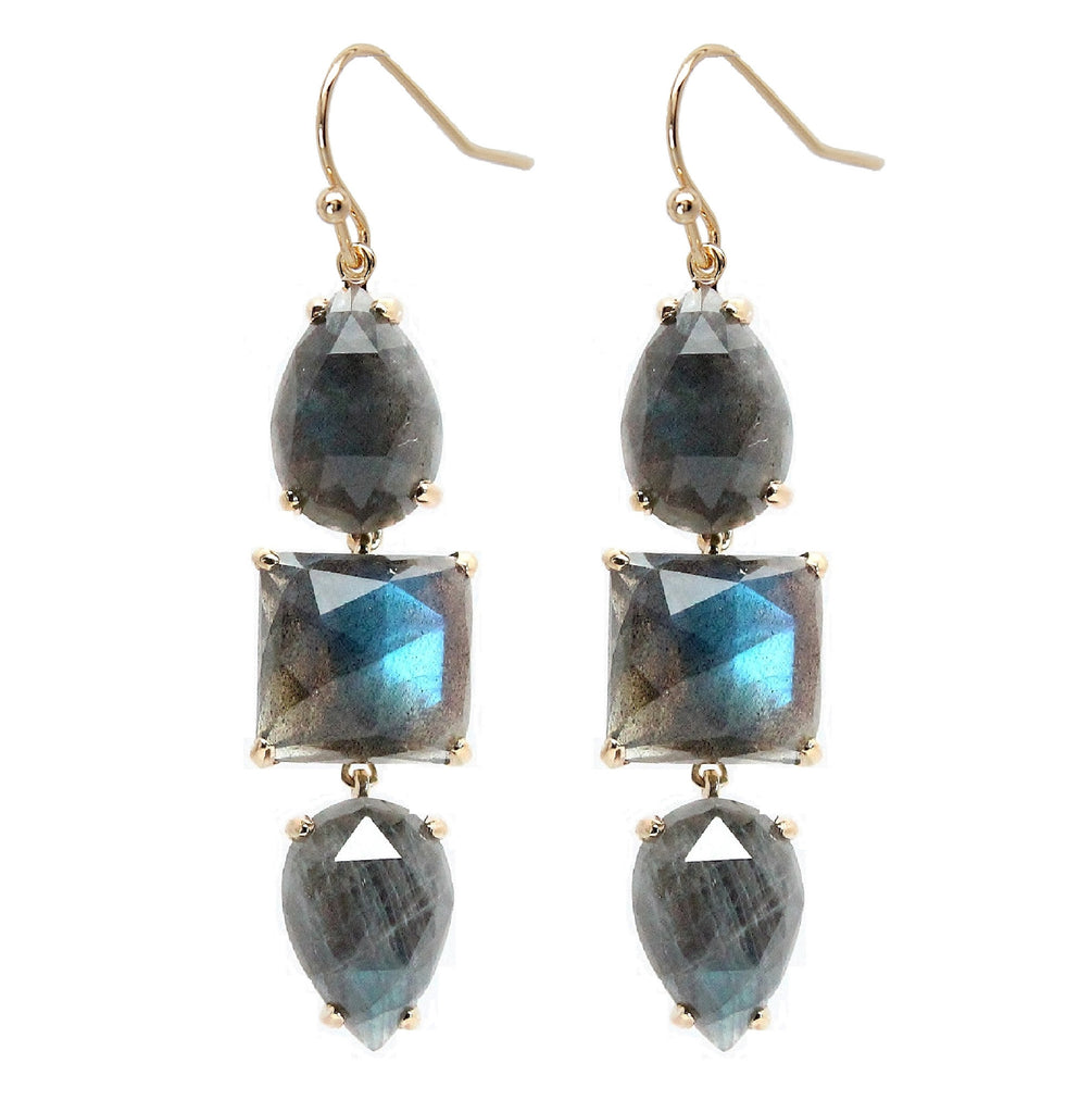 Rachael Ryen Labradorite Drop Earrings