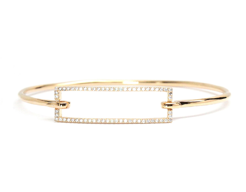 Gold Rectangle Bracelet