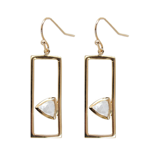 Triangle Frame Earrings