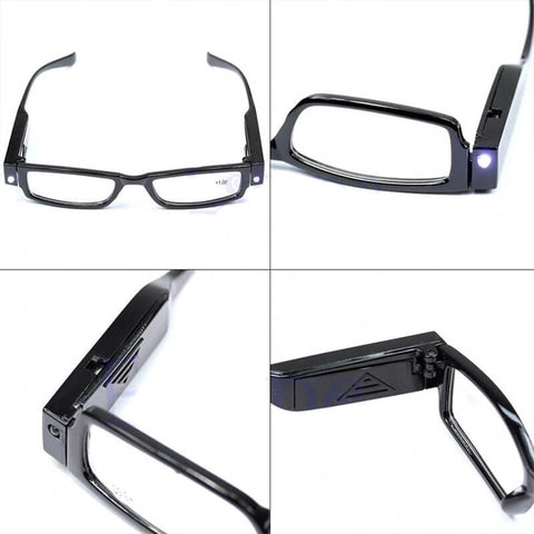 Reading Glasses With LED Light