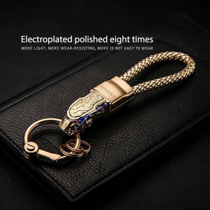 Keychain Pendant with Leather - Digital Market Today-Quality-Innovation-Technology Excellence