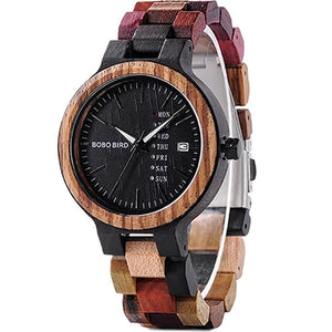 Luxury Unisex Wood Watch - Digital Market Today-Quality-Innovation-Technology Excellence