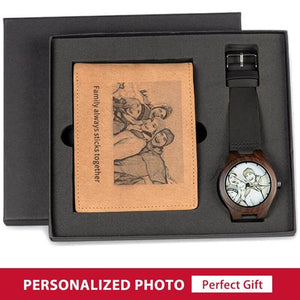 Personalized Watch and Wallet - Digital Market Today-Quality-Innovation-Technology Excellence