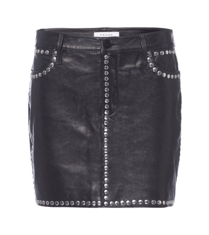 Frame Studded Skirt