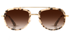Krewe du Optic Trunk Show Breton Matte Oyster 24K