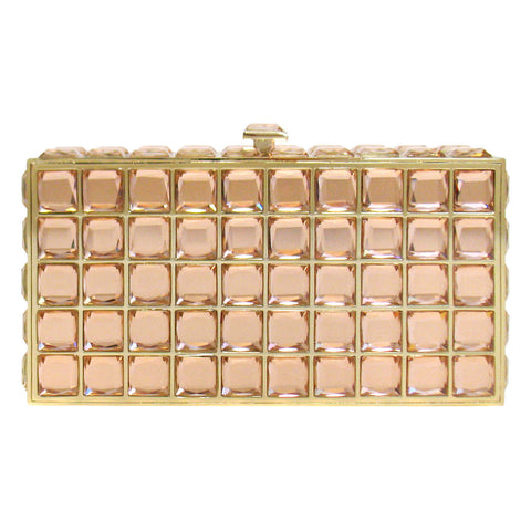 Cakewalk Signature Rectangular Hardcase w/ Stones in Rose Gold