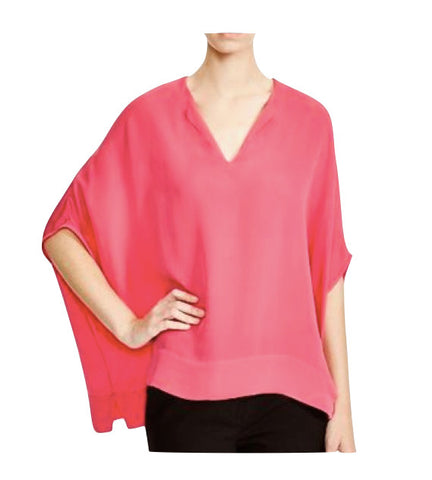 DVF Kora Top in Ocean Coral
