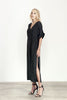 Elliatt Dress-Day/Night Abstract Long Side Slit
