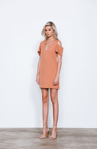 Elliatt Dress-Day/Night Beginning Shift Cold Shoulder