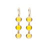 10mm Cabachon Drop Earrings