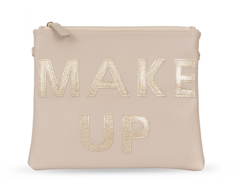 IPhoria Cosmetic Bag Gold Make Up
