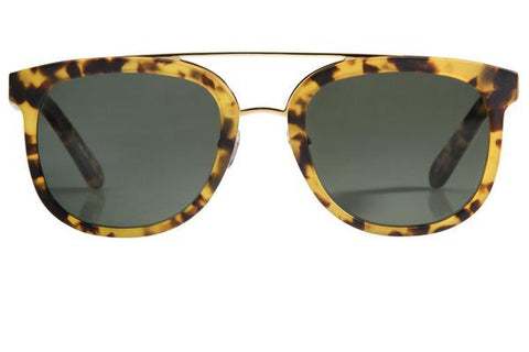 Krewe du Optic CL-10 Matte Osaka Tortoise Polarized 24K