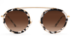 Krewe Sunglasses Round Conti Intersteller