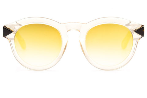 Krewe Sunglasses Toulouse in Champagne + Zulu