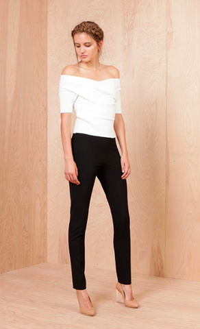 Michelle Mason High Waist Skinny Trouser