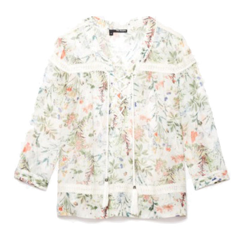 The Kooples Botanical Print Blouse