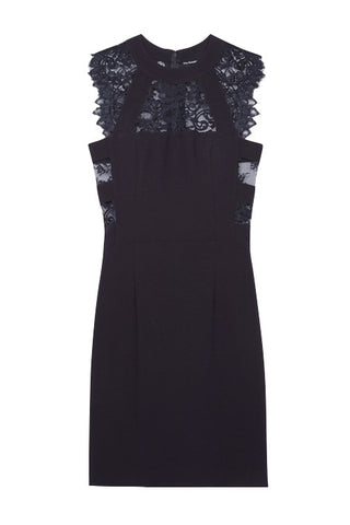 The Kooples Crepe Lace Dress