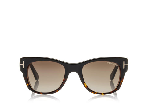 Tom Ford Sunglasses Cary Square Sunglasses in Brown Wood