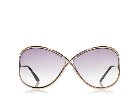 Tom Ford Miranda Oversized Soft Square Sunglasses