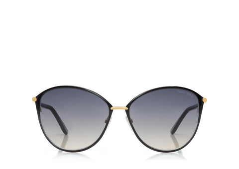 Tom Ford Penelope Vintage Round Sunglasses