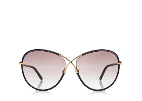 Tom Ford Rosie Oversized Butterfly Sunglasses