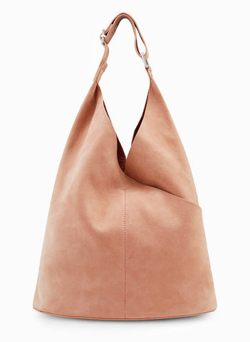 A.L.C. Suede Sadie Bag in Himalayan Salt