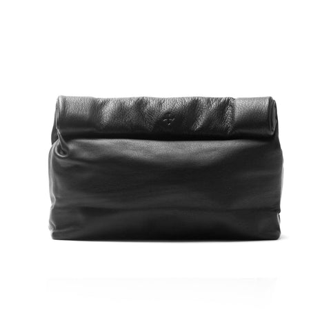 Marie Turnor Lunch Clutch Pebble Black
