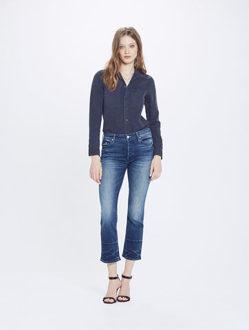 Mother Denim The Button Insider Crop