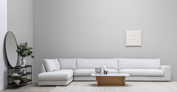 MILLER LEFT SECTIONAL - CHILL GREY