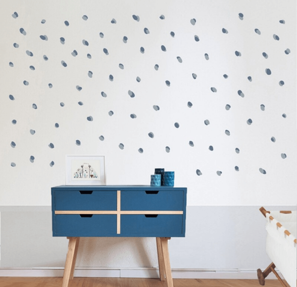 BLUE DOTS - STICKERS